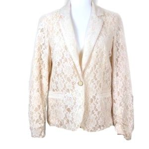 NEW YORK COLLECTION Lace Blazer